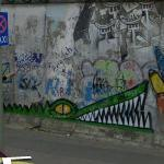 Graffity by Rowdy on the Berlin Wall