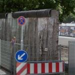 Traces of the Berlin Wall on Niederkirchnerstraße