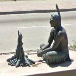 Potawatomi Indian sculpture