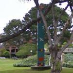 'Pine Tree Obelisk' by Joan Brown