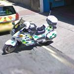 London Police Motorcycle