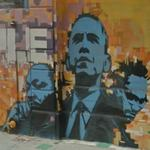 Barack Obama, Martin Luther King Jr. and Malcolm X