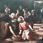 'Christ washing the Feet of the Disciples' by Jacopo Tintoretto
