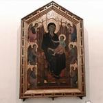 'The Rucellai Madonna' by Duccio