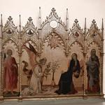 'Annunciation' by Simone Martini e Lippo Memmi