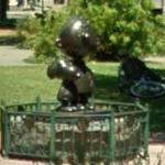 Charlie Brown & Snoopy statue