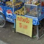Street Vender of Bananas