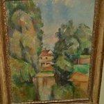 """Country House by a River"" by Paul Cezanne"