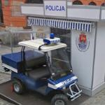 Mini police station & vehicle
