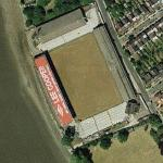 Craven Cottage, the home of Fulham FC