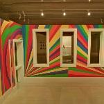 'Wall Drawing #1091: Arcs, Circles and Bands (Room)' by Sol LeWitt