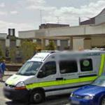 Ambulance at Basingstoke & North Hampshire Hospital