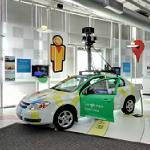 Google car in the Computer History Museum