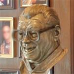Harry Caray sculpture
