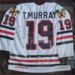Autographed Troy Murray jersey