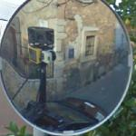 Google Car in Mirror