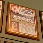 2004 World Series Champions plaque: Boston Red Sox