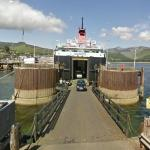 Leaving the Brodick Ferry