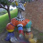 Animal sculpture by Niki de Saint Phalle