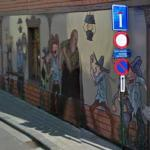Mural in Grotstraat