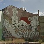 Cyber and Gregor Mural in Lodz
