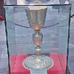 Monumental chalice with a relief representation of Christ the Vine
