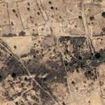 Destroyed village Darfur