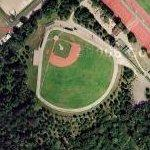 Baseball diamond in Paris