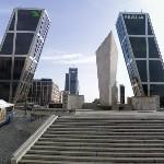 Puerta de Europa (The leaning Towers of Madrid) by Philip Johnson