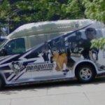 Pittsburgh Penguins van
