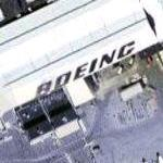Boeing on building