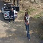 Photographing the Google Car