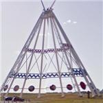 World's tallest teepee