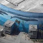 Wyland Whale Mural - 'Planet Ocean' - Long Beach Convention Center