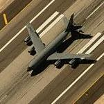 KC-135 Stratotanker Landing at Nellis AFB