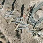 New Hoover Dam Bypass under construction