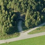 Swedish Air Force wing F8 underground tunnels