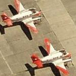 US Navy Beechcraft T-44C Pegasus trainers