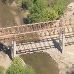 Nation's longest covered bridge under construction